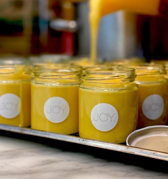 Joy's Lemon Meringue Cupcakes & JOYmade Lemon Curd - Joy